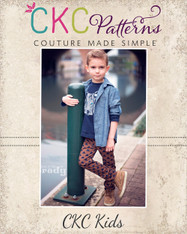 Landon's Knit Pants PDF Pattern