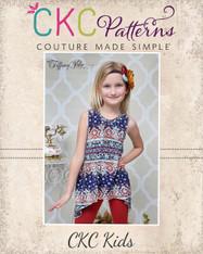 Charity's Girls and Tween Swing, Hi-low and Handkerchief Top PDF Pattern