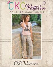 Marsha's Women's Flared Pants and Capris PDF Pattern