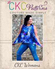 Charity's Women's and Plus Swing, Hi-low and Handkerchief Top PDF Pattern