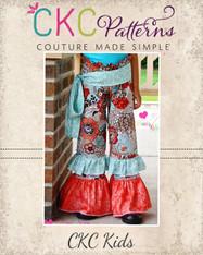 Alyssa's Ruffle Waist Pants Sizes 0/6m to 8 Girls PDF Pattern