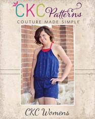 Louise's Women's Knit Romper PDF Pattern
