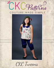 Sparrow's Tween A-Line Halter Top, Tunic, and Dress PDF Pattern