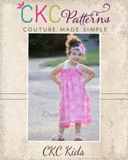 Amelia's Simple Lace Sundress and Top Sizes 6/12m to 8 Girls PDF Pattern