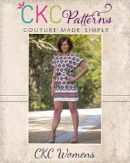 Danika's Women's One-Piece Top and Dress PDF Pattern