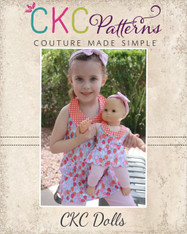 Sparrow's Doll Size A-Line Halter Top, Tunic, and Dress PDF Pattern