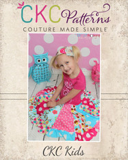 Aylah's Knit Twirly Skirt Sizes 6/12m to 8 Girls PDF Pattern