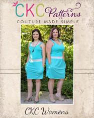 Nevaeh's Women's Knit A-Line Pocket Skirt PDF Pattern