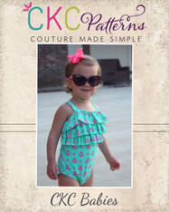 Pearl's Baby One-Piece Swimsuit PDF Pattern