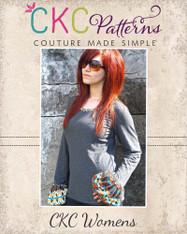 Brenda's Bubble Sleeve Top Sizes XS to XL Women PDF Pattern
