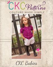 Blossom's Baby Tab Shorts PDF Pattern