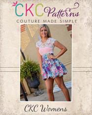 Daphne's Women's Bubble Skirt PDF Pattern