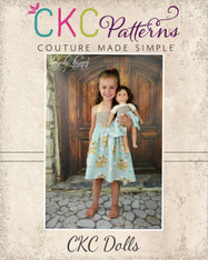 Amber's Doll Simple Halter Top and Dress PDF Pattern