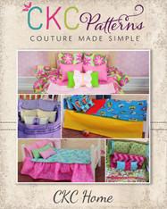 """Selena's 18"""" Doll Bedding Set PDF Pattern"""