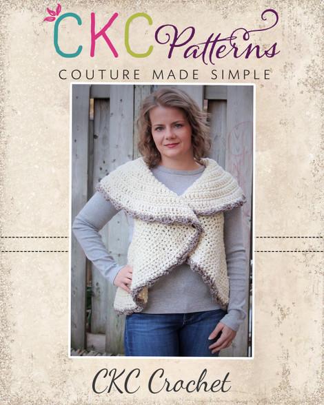 Aspens Womens Crochet Circle Vest Pdf Pattern