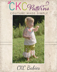 Harleigh's Baby Scalloped Capris and Pants PDF Pattern