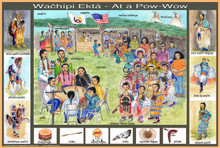 At the Powwow Poster