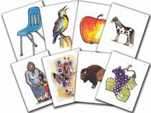 Lakȟótiya Wóglaka Po! - Speak Lakota! Level 1 Flashcard Set