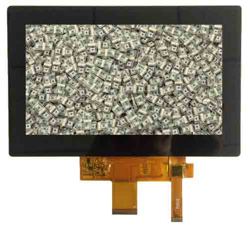 Why Stockpiling TFT displays is better than money in the bank.