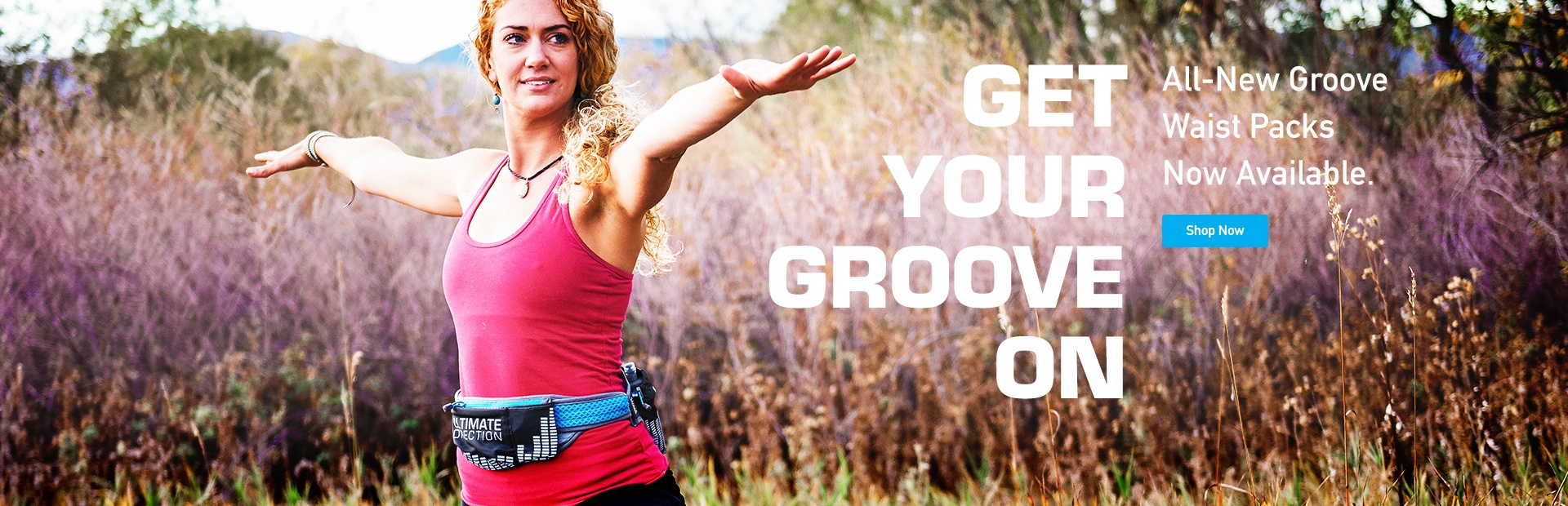 New Groove Waist Packs Now Available
