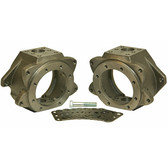 Trail Gear 6 Stud Knuckle, Pair