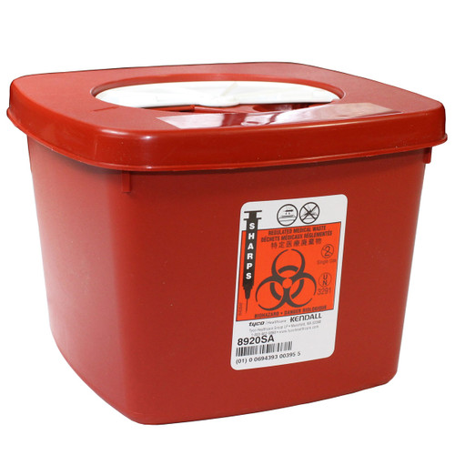 Sharps Container - Red 2 Qt.