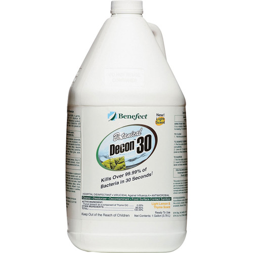 Decon 30 4 litre jug by Benefect