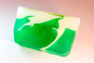 Green Apple Twist glycerin soap