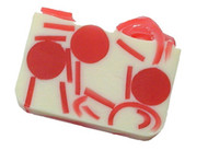 Cherries Jubilee glycerin soap