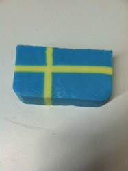 Swedish Flag glycerin soap