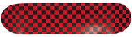 Moose - Checkered Red/Black Deck 7.5""