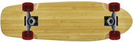 "Moose - 8"" x 26.5"" Light Bamboo Beach Cruiser"