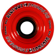 Bigfoot Wheel - 75mm 81a Invaders Red