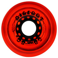 Bigfoot Wheel - 68mm 80a Boardwalks Clear Red