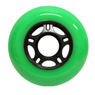 Inline wheel - Green / Black 76mm 89a 5 Spoke