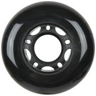 Inline Wheel 64mm x 24mm Black