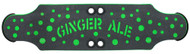 "Beercan Boards - 32"" Ginger Ale Deck Green"