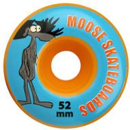 Moose- 52mm 99a Wheels Orange (Set of 4)