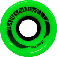 Paradise Wheels - 59mm 78a Cruisers Green