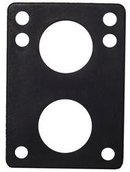 H-Block Riser Pads (100Pcs)- Angled Black