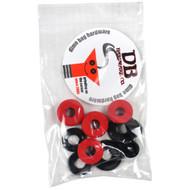 Dimebag Hardware Bushing Kit Red 95A