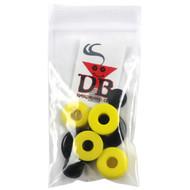Dimebag Hardware Bushing Kit Yellow 95A