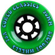 Bigfoot Wheel - 90mm 78a Cored Classics Green