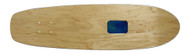 """Rolling Tray Cruiser Deck 7.75"""" x 30"""" Natural/Blue"""