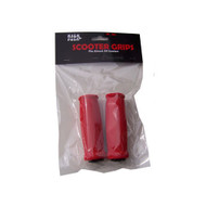 Scooter Grips - 100mm Foam Red
