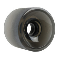 Longboard Wheel - 70mm 82a Shaved Black