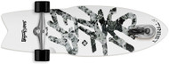 Street Surfing Shark Attack Caster Skateboard Great White 30""