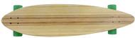 Bamboo Inlay Longboard - Randal Trucks