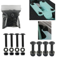"""1 1/4"""" Pan Head Hardware with Washers for Drop Through Longboards"""