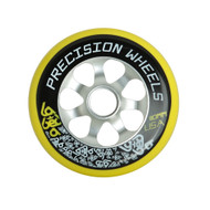 Labeda Scooter Wheel 110mm Precision Aluminum Core Yellow